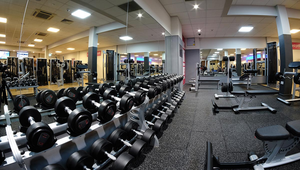 pretty nice 0a3a7 df657 Lifestyle Fitness Gym   Hugh Baird College